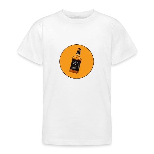 Logo Flash Rap - T-shirt Ado