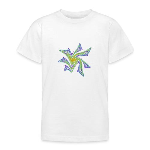 Seestern Seeigel Meerestiere Ozean Chaos 2721grbw - Teenager T-Shirt