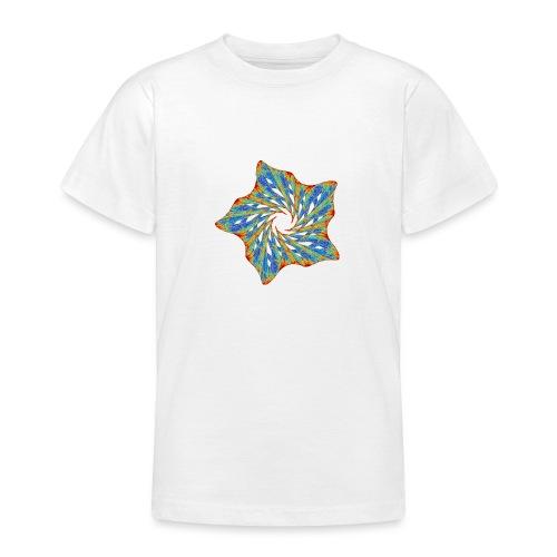 Colorful starfish with thorns 9816j - Teenage T-Shirt