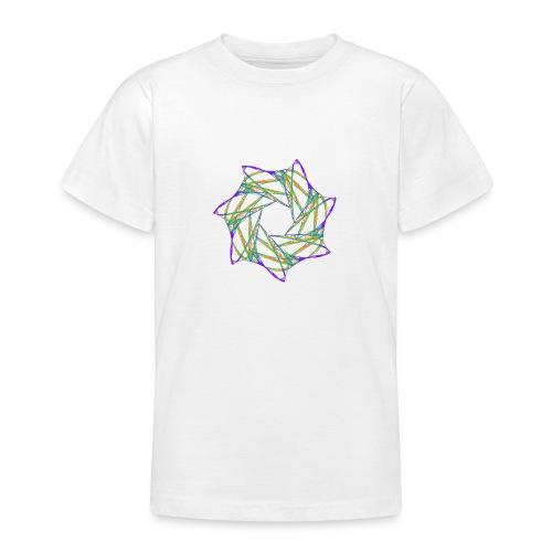 Chakra Mandala Mantra OM Chaos Star 12088grbw - Teenage T-Shirt