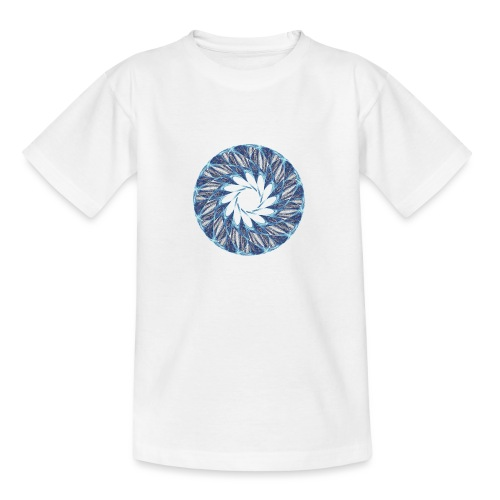 Chakra Mandala Mantra OM Chaos Star Circle 12235ic - Teenage T-Shirt