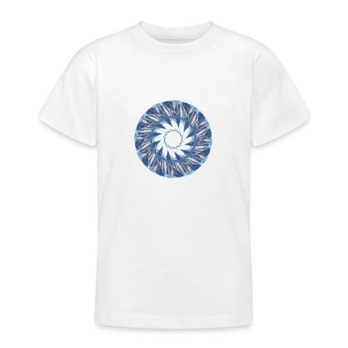 Chakra Mandala Mantra OM Chaos Stern Kreis 12235ic - Teenager T-Shirt