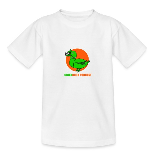 Greenduck Podcast Logo - Teenager-T-shirt