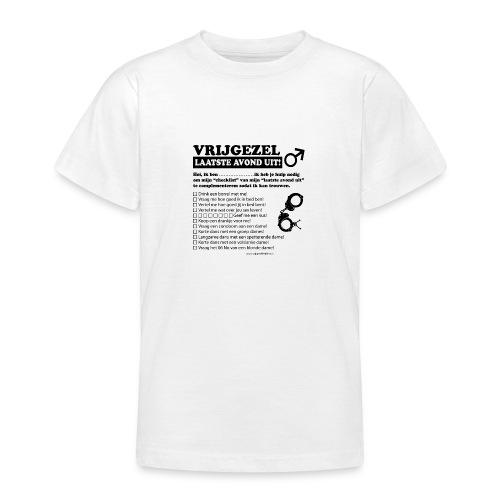 Vrijgezellenshirt man - Teenager T-shirt