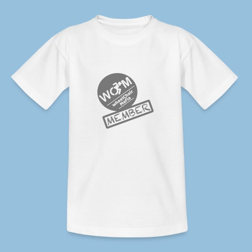 WheelChair Mafia member 001 - Teenager T-shirt