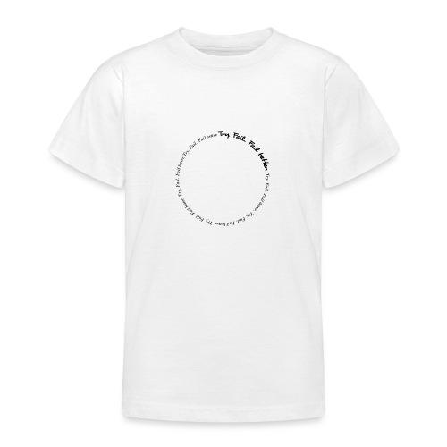 Try. Fail. Fail better. Message T-shirt - Maglietta per ragazzi
