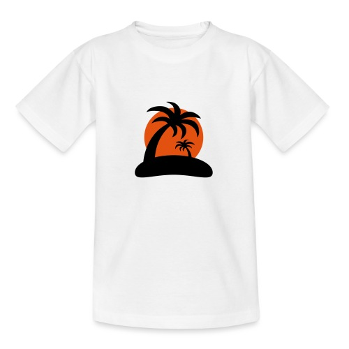 palm island sun - Teenager T-shirt