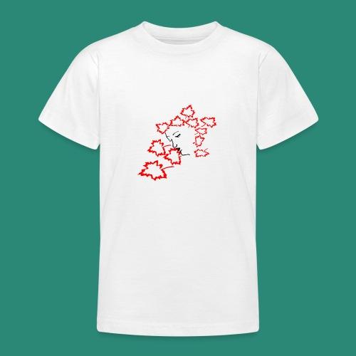 entblätterte Herbstfee - Teenager T-Shirt