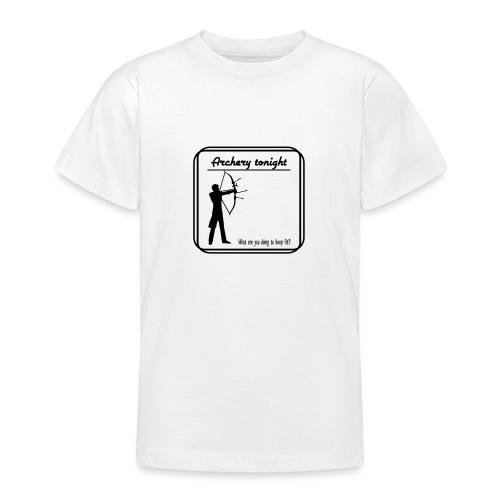 Archery tonight - Nuorten t-paita