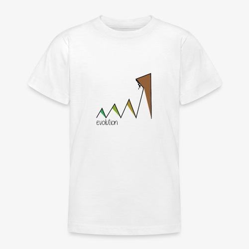 evolution - Teenage T-Shirt