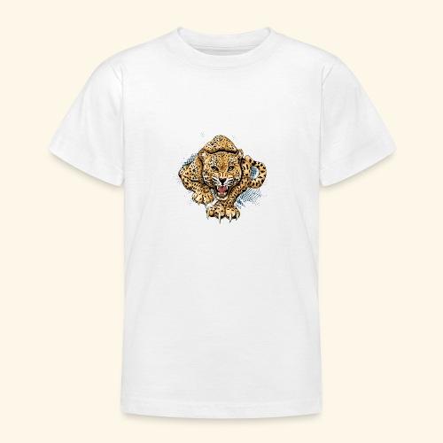 Leopardo KutuXa - Camiseta adolescente