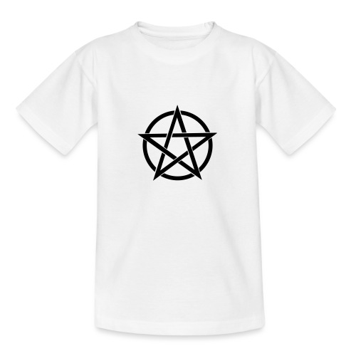 Pentagramme Wicca - T-shirt Ado