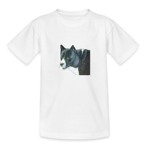 karelian beardog - Teenager-T-shirt
