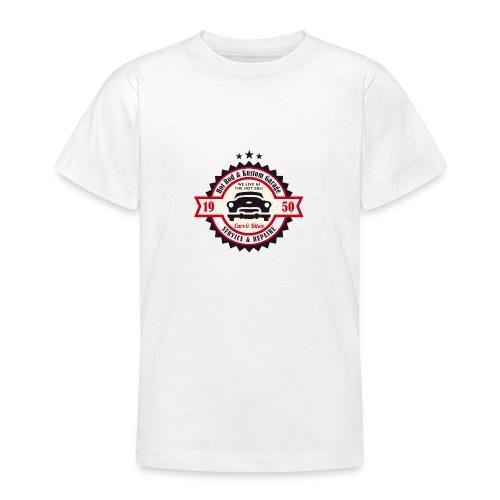 Hot Rod and Kustom Garage - Teenager T-Shirt