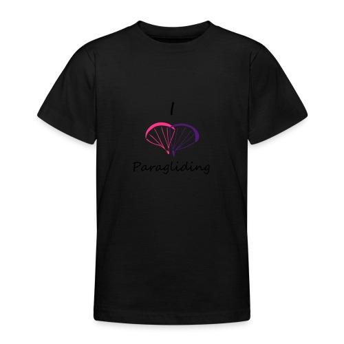 I Love Paragliding V2 - Teenage T-Shirt