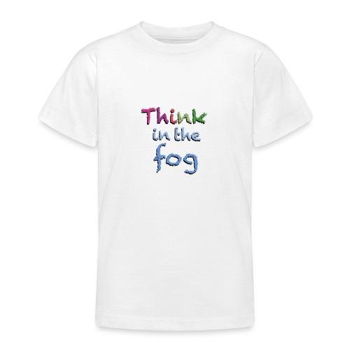 Think in the fog - Maglietta per ragazzi