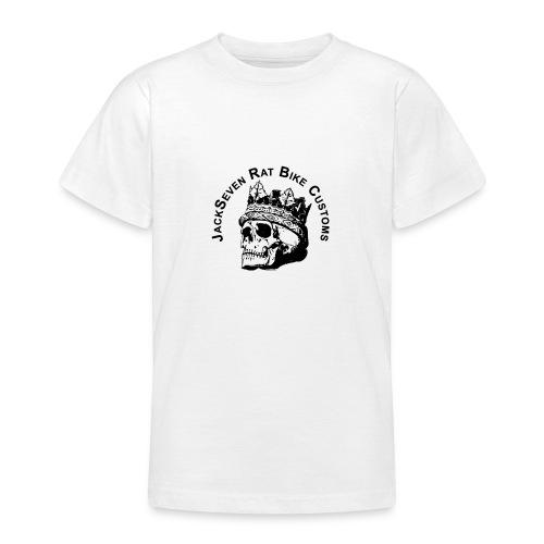 JackSeven Customs - Skull -Totenkopf - Bobber - Teenager T-Shirt