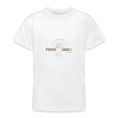 Poggio Casoli_Istituzionale - Maglietta per ragazzi