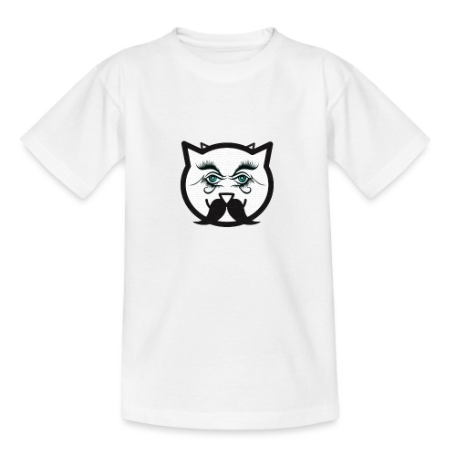 Hipster cat Boy by Tshirtchicetchoc - T-shirt Ado