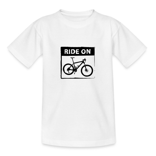 Ride On MTB 1 Color - Teenager T-Shirt