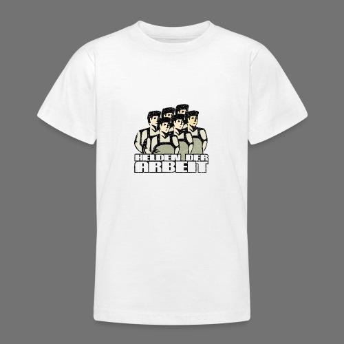 Heroes of työ - työntekijöiden Heroes (oldstyle) - Nuorten t-paita