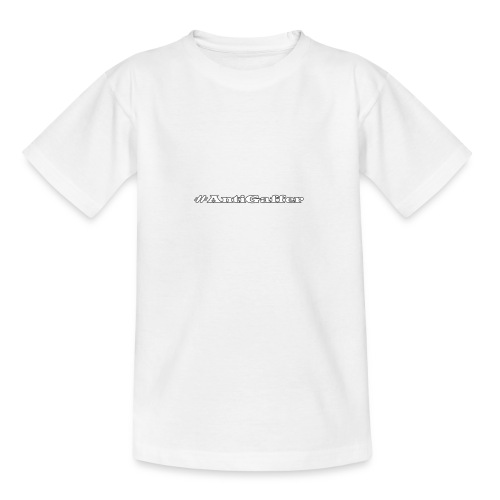 Antigaffer Hashtag - Teenager T-Shirt