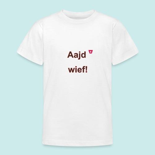 Aajd wief def b verti - Teenager T-shirt