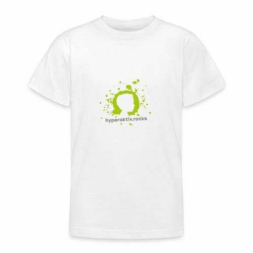 hyperaktiv.rocks Logo - Teenager T-Shirt