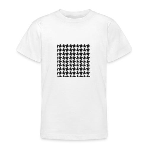 Parisian pattern - T-shirt tonåring