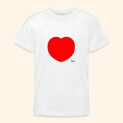 Heart - Teenager T-Shirt