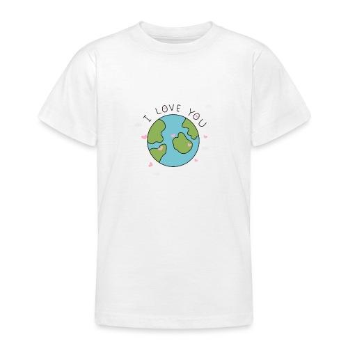 iloveyou - Maglietta per ragazzi