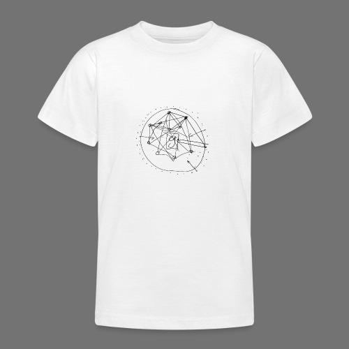 Strategia SEO nr 1 (czarny) - Koszulka młodzieżowa