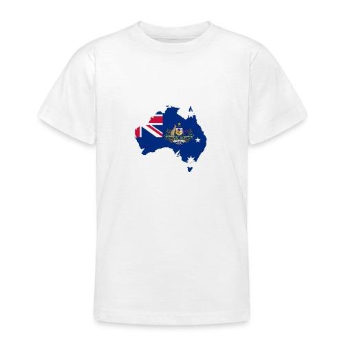 Australien Australia Kontinent Insel Urlaub - Teenager T-Shirt