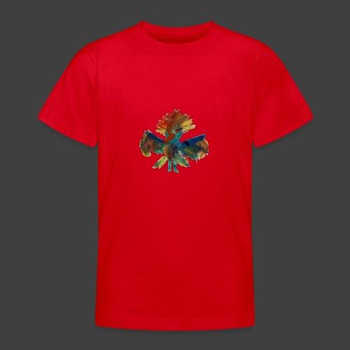 Mayas bird - Teenage T-Shirt