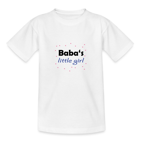 Baba's little girl Babylätzchen - Teenager T-Shirt