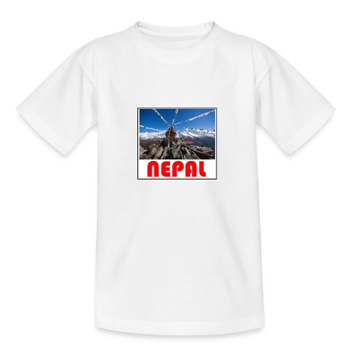 Nepal T-shirt - Teenage T-Shirt