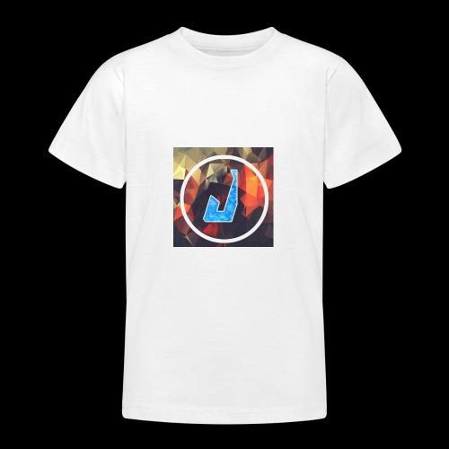 jakubplayss logo merch - T-skjorte for tenåringer