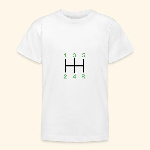 Palanaca de cambios en H. - Camiseta adolescente