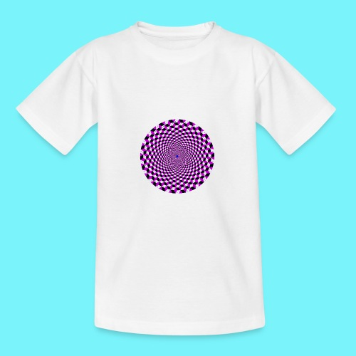 Mandala figure from rhombus shapes - Teenage T-Shirt