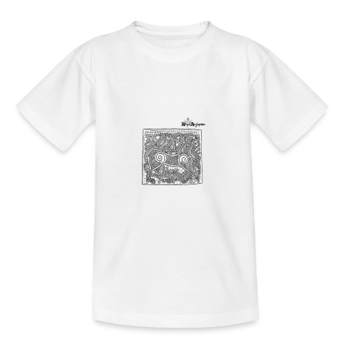 Transparent Beastie - Teenage T-Shirt
