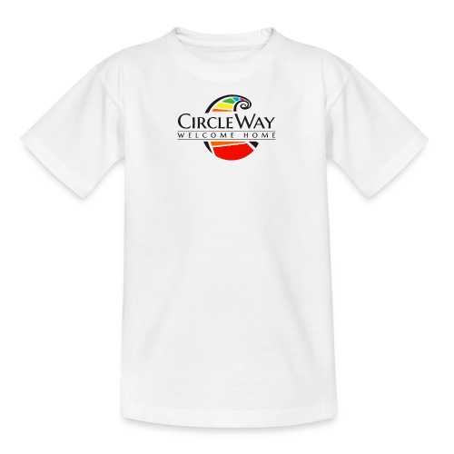 Circleway Welcome Home Logo - schwarz - Teenager T-Shirt