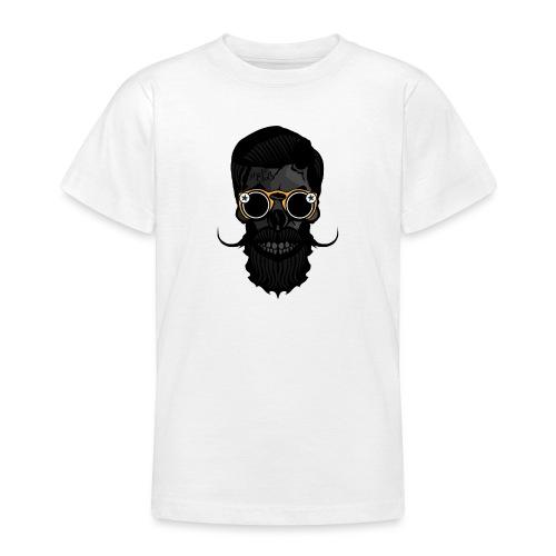 tete de mort crane skull hipster lunette de soleil - T-shirt Ado