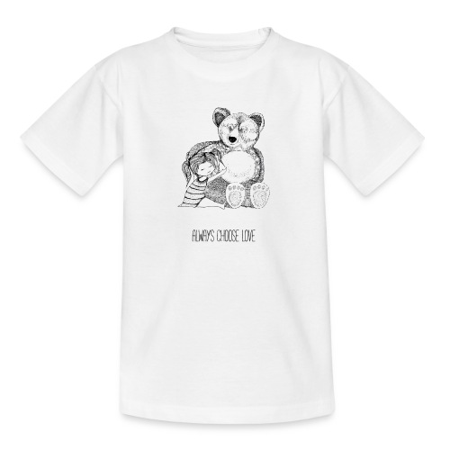 bear best friend - Teenager T-Shirt