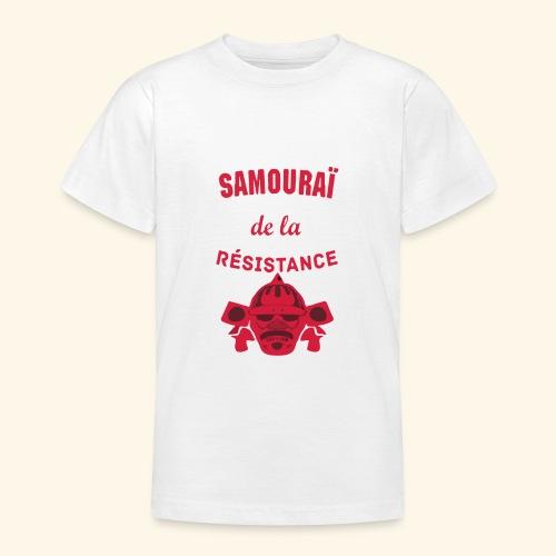samourai de la résistance - T-shirt Ado