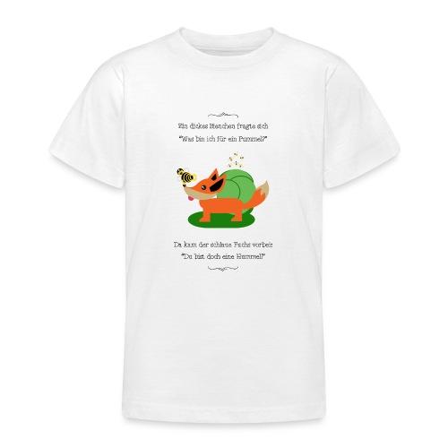 Pummelbiene - Teenager T-Shirt