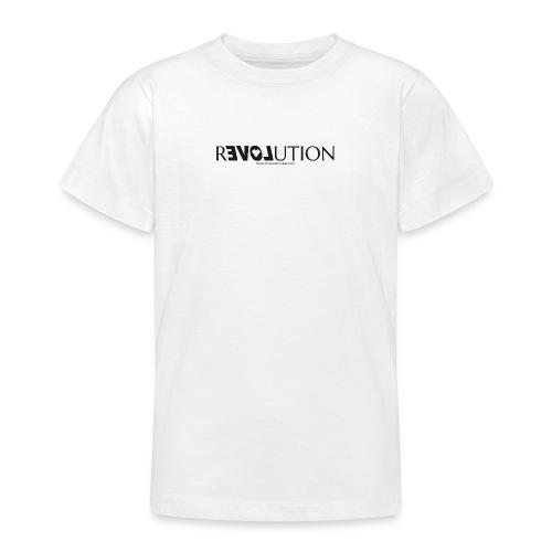 ReLOVEution Shirt – schwarz - Teenager T-Shirt