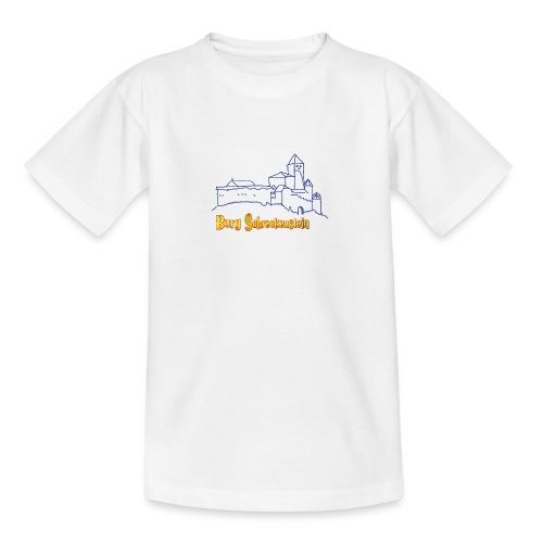 Kinder Kapuzenpullover - Burg Schreckenstein - Teenager T-Shirt