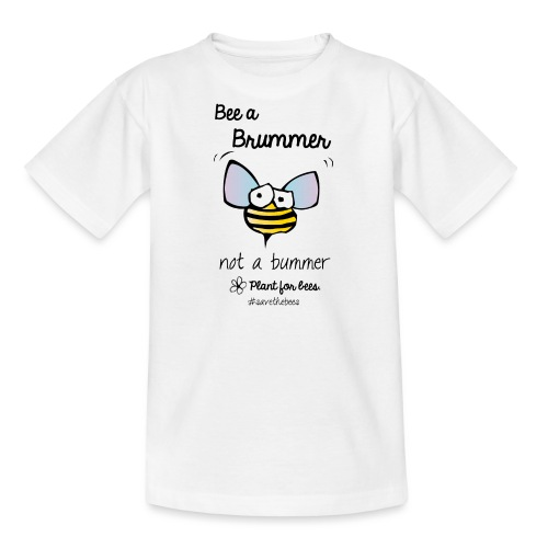 Bees6-2 Save the bees - Teenage T-Shirt
