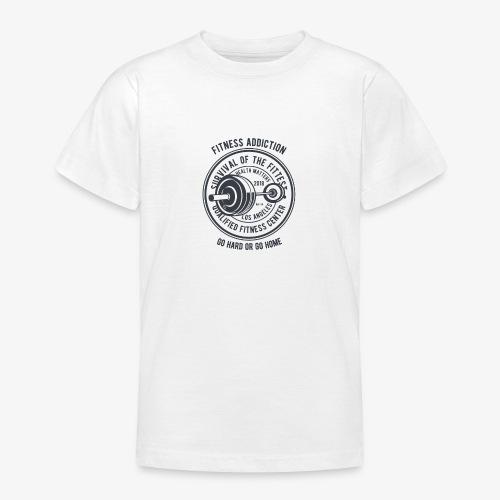 Fitness Addiction - T-shirt Ado