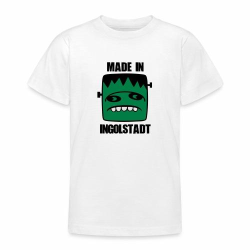 Fonster made in Ingolstadt - Teenager T-Shirt